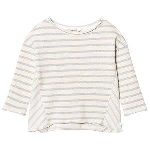 eBBe Kids Girls Jumpers and knitwear Blue Sadie Sweatshirt Blue Fog Stripes