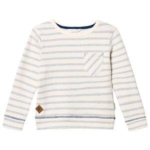 eBBe Kids Boys Jumpers and knitwear Blue Sullivan Sweater Blue Fog Stripes