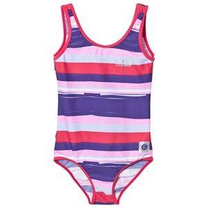Reima Girls Swimwear and coverups Red Sumatra Swimsuit Strawberry Red
