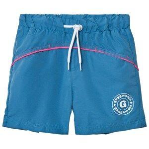 Geggamoja Boys Swimwear and coverups Navy Swim Pant Marin