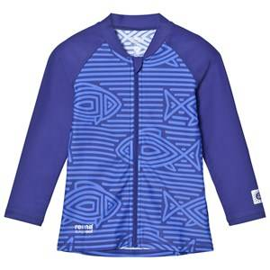 Reima Unisex Swimwear and coverups Blue Isla Swim Shirt Blue