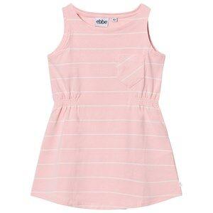 Image of eBBe Kids Girls Dresses Pink Ellis Dress Powder Pink/Off White Stripes