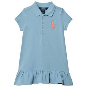 Ralph Lauren Girls Dresses Blue Blue Big Pony Polo Dress