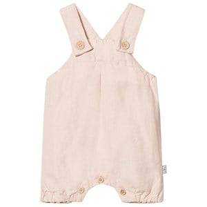 Hust&Claire; Girls All in ones Pink Linen Overalls Soft Rosé