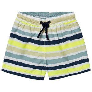 Heidi Klein Boys Swimwear and coverups Multi Thomas Multi Colour Stripe Trunks