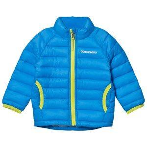 Didriksons Unisex Coats and jackets Blue Umlali Kids Puffer Jacket Sharp Blue
