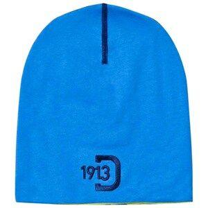Didriksons Unisex Headwear Blue Kham Kids Beanie Sharp Blue