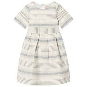 Noa Noa Miniature Girls Dresses White Mini Lin Dress Chalk