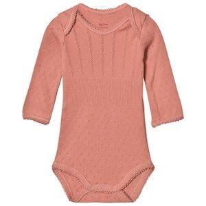 Noa Noa Miniature Girls All in ones Purple Doria Basic Baby Body Brick Dust