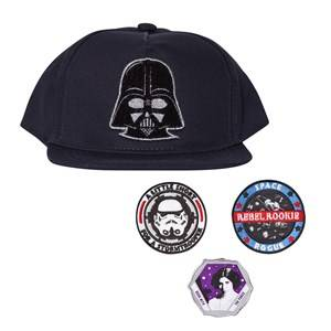 Fabric Flavours Boys Headwear Navy Star Wars Interchangeable Patch Cap