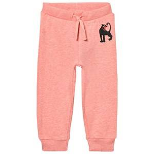 Mini Rodini Girls Jumpers and knitwear Pink Panther Sweatpant Pink Melange