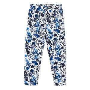 IKKS Girls Bottoms Blue Blue Floral Print Trousers