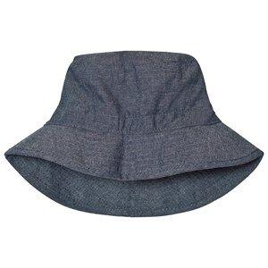 Melton Unisex Childrens Clothes Headwear Blue Bucket Hat Summer Melange Tahiti