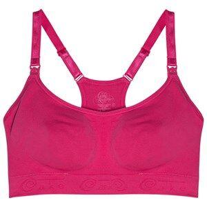 Image of Cake Lingerie Girls Maternity underwear Pink Cotton Candy Racerback Seamless Nursing Bra Fuchsia