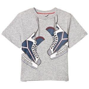 Stella McCartney Kids Boys Tops Grey Arrow Skate On T-Shirt