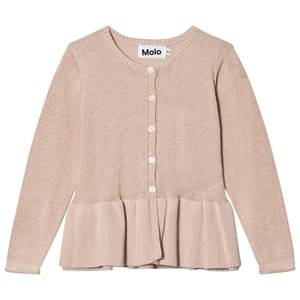 Image of Molo Girls Jumpers and knitwear Pink Gulia Cardigan Cameo Rose