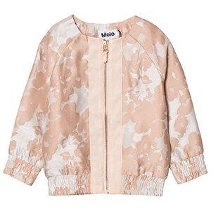 Molo Girls Coats and jackets Pink Hana Jacquard Jacket Cameo Rose