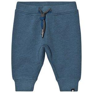 Molo Boys Bottoms Blue Stan Soft Pants Stellar Blue