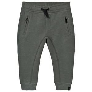 Molo Boys Bottoms Multi Ash Soft Pants Pewter