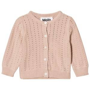 Image of Molo Girls Jumpers and knitwear Pink Ginny Cardigan Cameo Rose