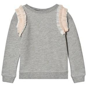 Molo Girls Jumpers and knitwear Pink Margie Sweatshirt Tulle Rainbow