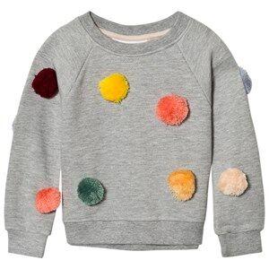 Molo Girls Jumpers and knitwear Grey Marcella Sweatshirt Grey Melange