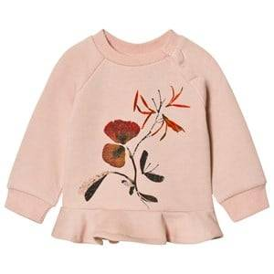 Molo Girls Jumpers and knitwear Pink Dora Sweatshirt Cameo Rose