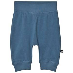 Molo Boys Bottoms Blue Sammy Soft Pants Stellar Blue