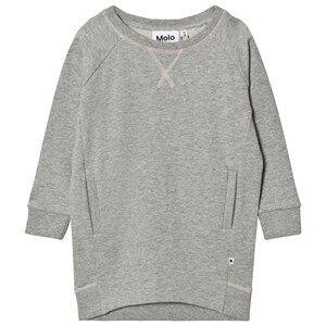 Molo Girls Dresses Grey Chantal Dress Grey Melange
