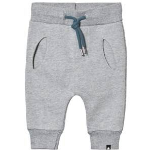 Molo Boys Bottoms Blue Shane Soft Pants Stellar Blue