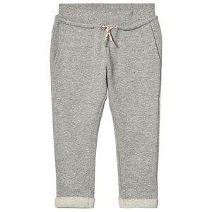 Image of Molo Girls Bottoms Grey Agnete Soft Pants Grey Melange