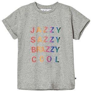Molo Girls Tops Grey Rawna T-Shirt Grey Melange