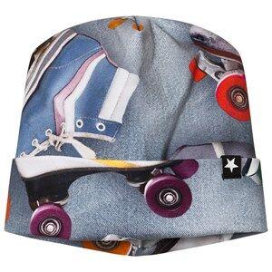 Molo Unisex Headwear Blue Namora Hat Roller Skating