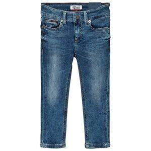 Tommy Hilfiger Boys Bottoms Blue Blue Mid Wash Scanton Skinny Jeans