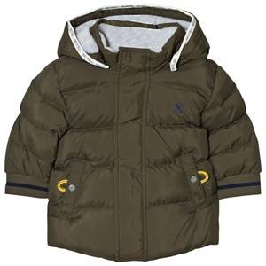 Timberland Boys Coats and jackets Green Padded Puffer Jacket Khaki