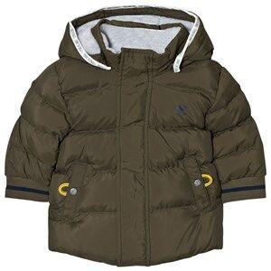 Timberland Boys Coats and jackets Green Padded Puffer Jacket Khaki