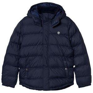 Timberland Boys Coats and jackets Navy Hooded Puffer Jacket Navy