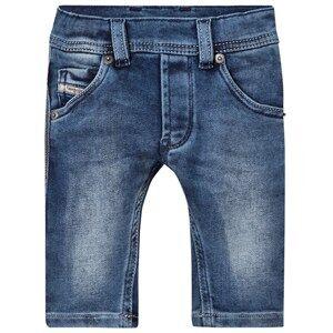 Diesel Boys Bottoms Blue Blue Denim Washed Jeans