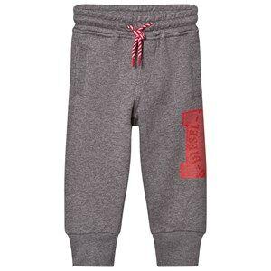 Diesel Boys Bottoms Grey Grey D Logo Print Pants