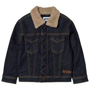 Molo Boys Coats and jackets Blue Hackman Denim Jacket Raw Indigo