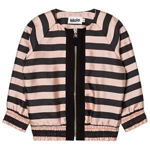 Molo Girls Coats and jackets Pink Hana Jacket Ponderosa Pine Melange