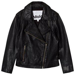 Molo Girls Coats and jackets Black Hazel Jacket Washed Black