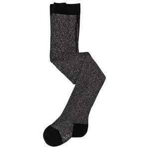 Image of Molo Unisex Underwear Black Glitter Tights Black