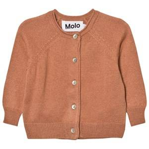 Image of Molo Girls Jumpers and knitwear Pink Gladys Cardigan Velvet Rose