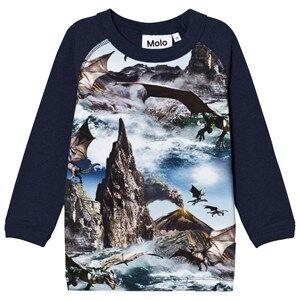 Molo Boys Tops Blue Remington T-Shirt Dragon Island