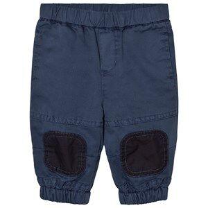Stella McCartney Kids Girls Bottoms Blue Navy Pull Up Almond Track Pants