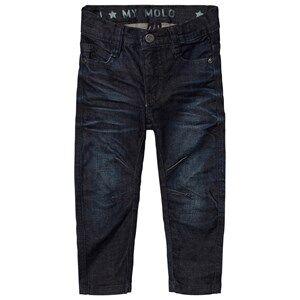 Molo Boys Bottoms Blue Alonso Jeans Indigo Shadow