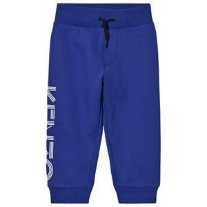Kenzo Boys Bottoms Blue Royal Blue Kenzo Logo Sweat Pants