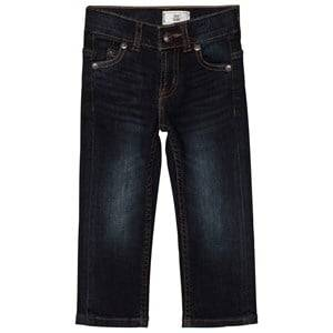 Levis Kids Boys Bottoms Blue Dark Wash 511 Slim Fit Jeans