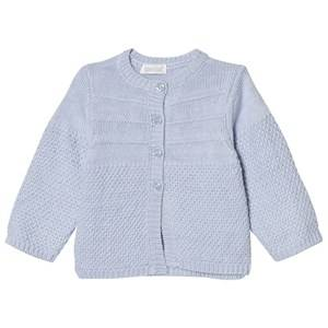 Image of Absorba Boys Jumpers and knitwear Blue Pale Blue Cashmere-Cotton Textured Knit Cardigan